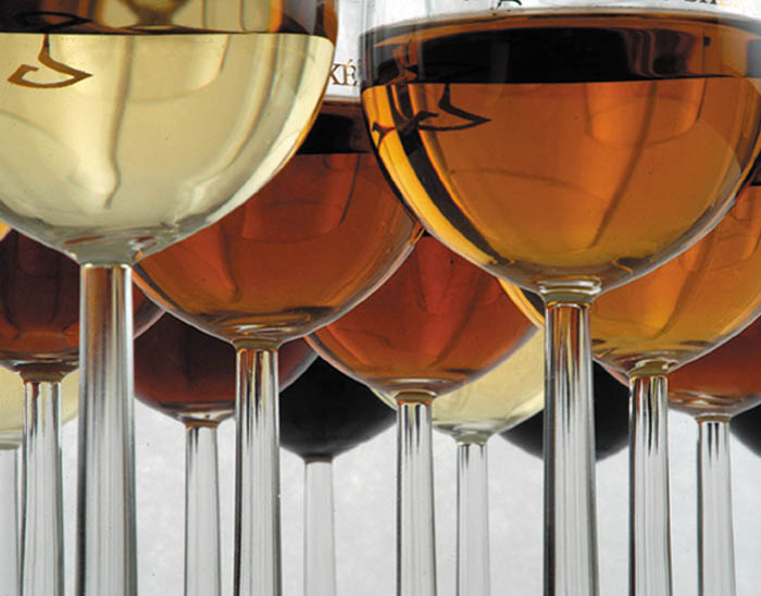 sherry glasses from jerez